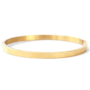Bangle plain gold