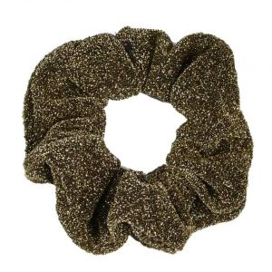 Scrunchie glitter gold