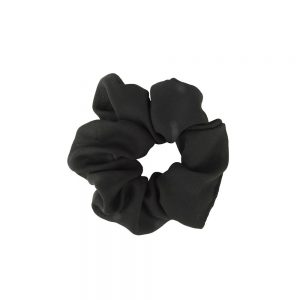 Scrunchie plain black