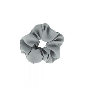 Scrunchie plain grey