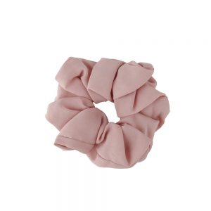 Scrunchie plain pink