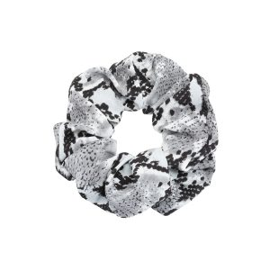 Scrunchie snake grey