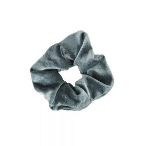 Scrunchie velvet grey