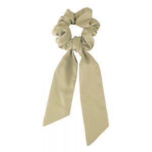 Scrunchie ribbon camel