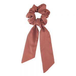 Scrunchie ribbon dusty pink