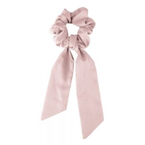 Scrunchie ribbon pink