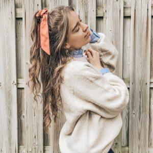Scrunchie ribbon plain