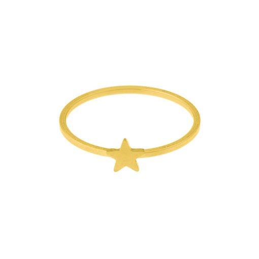 Ring star gold