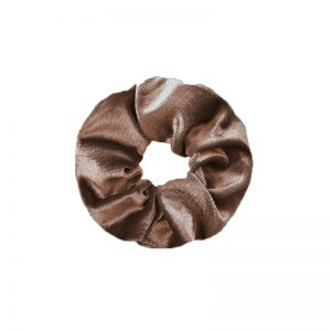 Scrunchie velvet brown