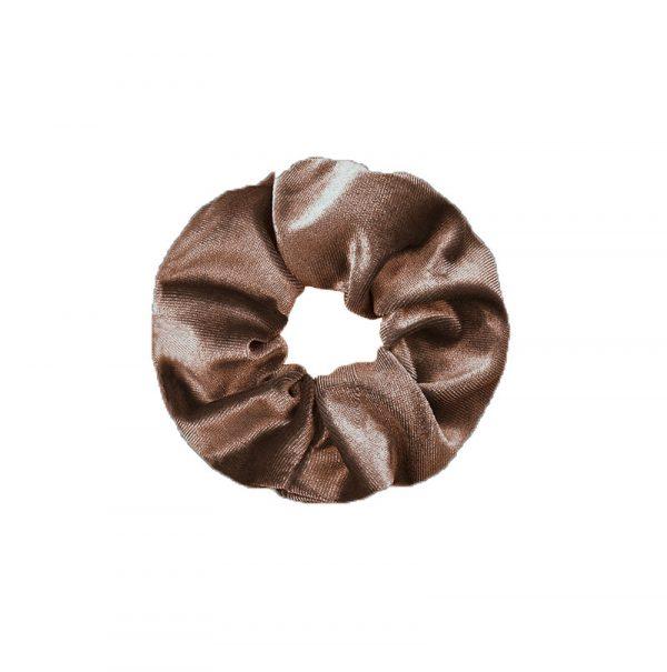 Scrunchie velvet brown