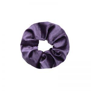 Scrunchie velvet purple