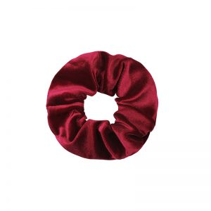 Scrunchie velvet red