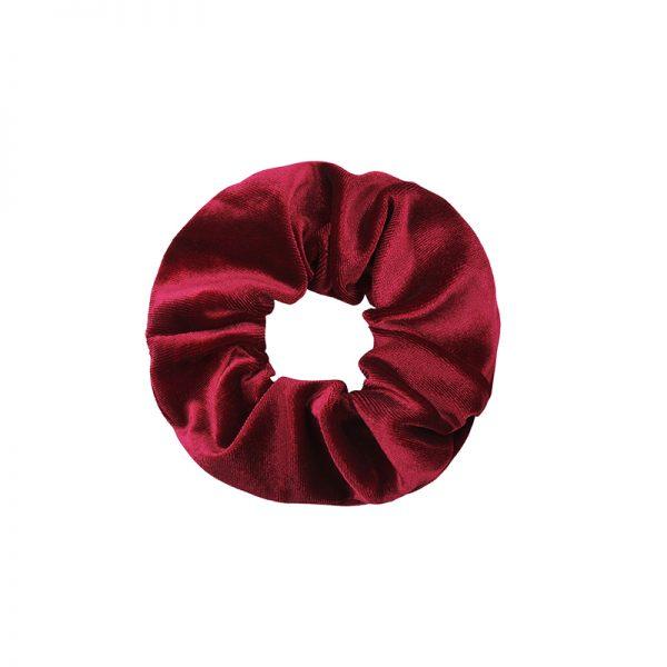 Scrunchie velvet red