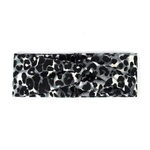 Hairband leopard black