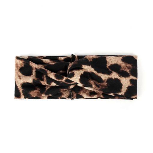 Hairband leopard light brown