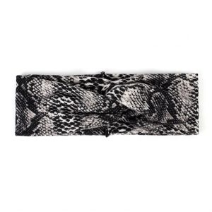 Hairband snake black