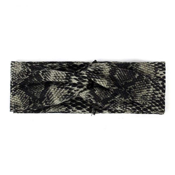 Hairband snake green