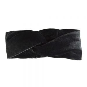 Hairband velvet black