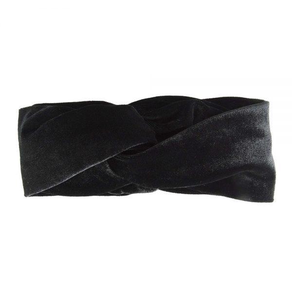 Hairband velvet black