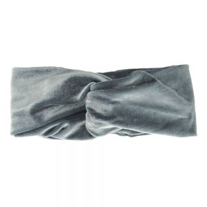 Hairband velvet grey
