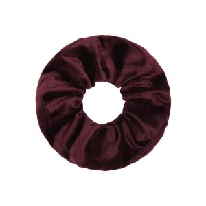Scrunchie winter dark red