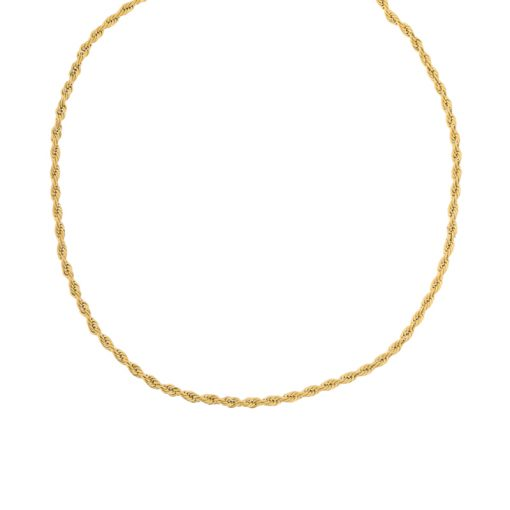 Choker twisted gold