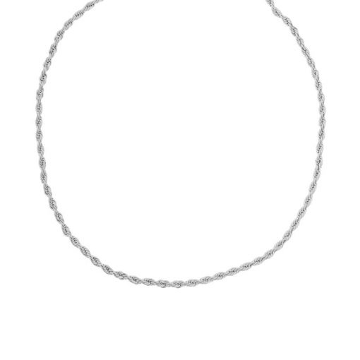 Choker twisted silver