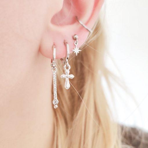 Earrings stud Northstar