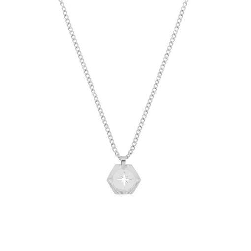 Necklace Northstar silver