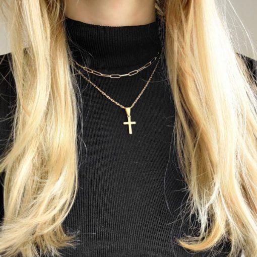 Necklace choker links