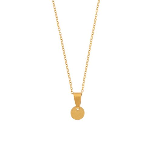 Necklace coin gold