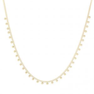 Necklace dots gold