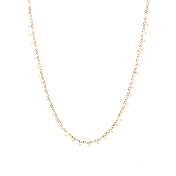Necklace northstars gold