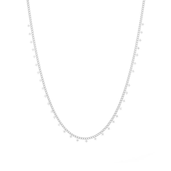 Necklace northstars silver