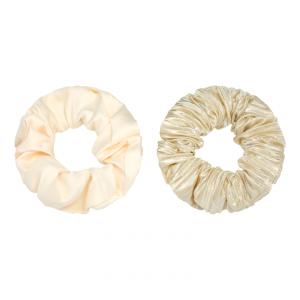 Scrunchie set beige
