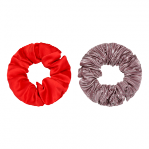 Scrunchie set red
