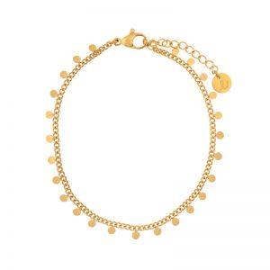 Bracelet circles gold
