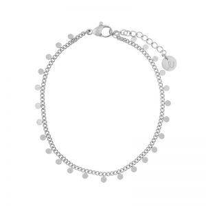 Bracelet circles silver