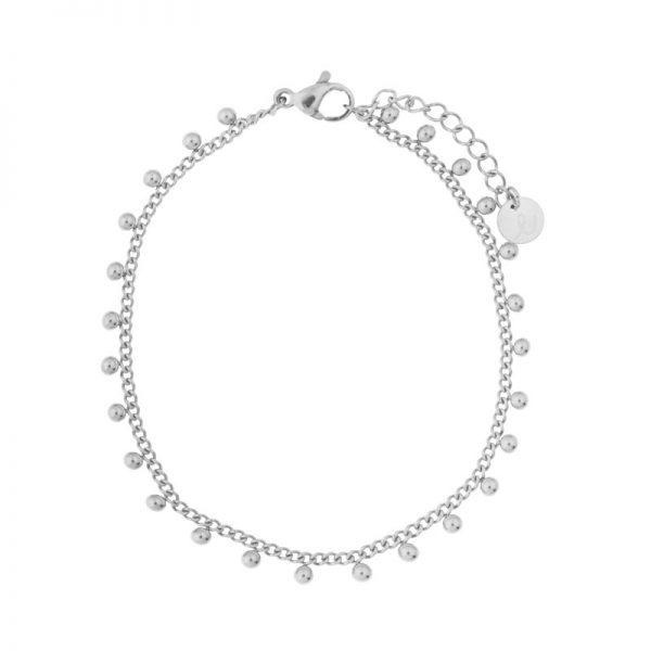Bracelet dots silver