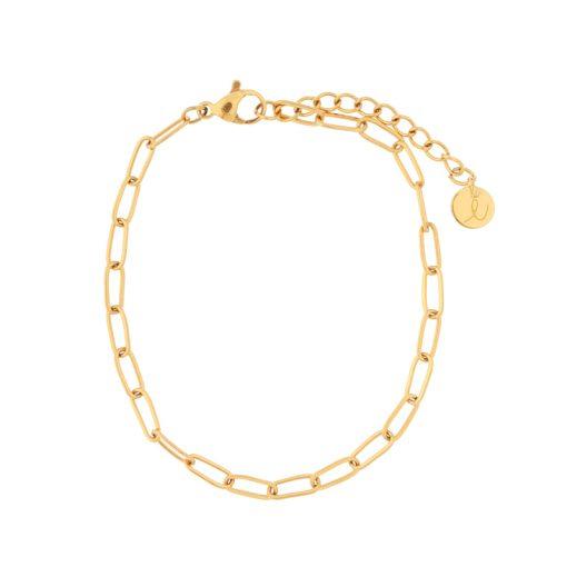 Bracelet links gold
