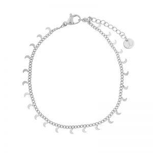 Bracelet moons silver