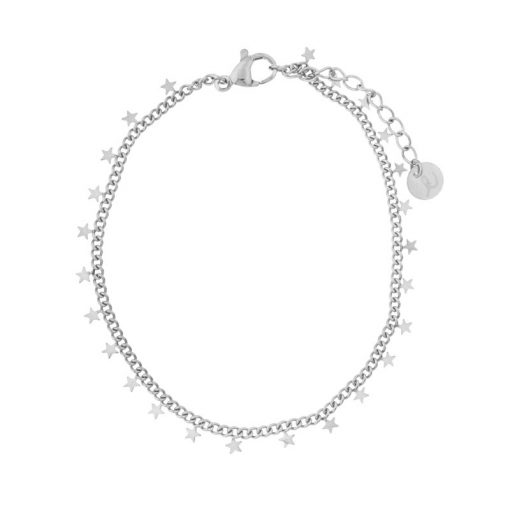 Bracelet stars silver