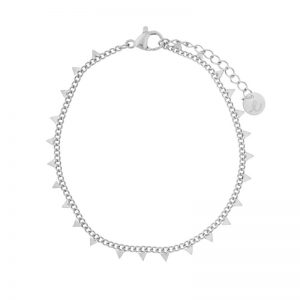 Bracelet triangles silver