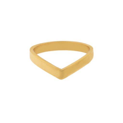 Ring V gold