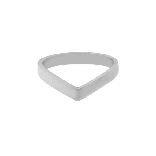 Ring V silver