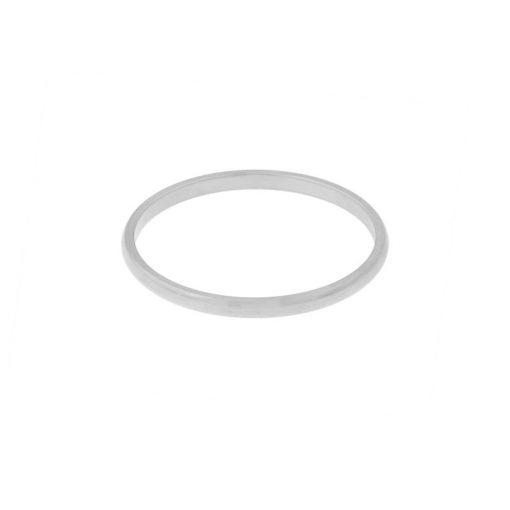 Ring basic round silver