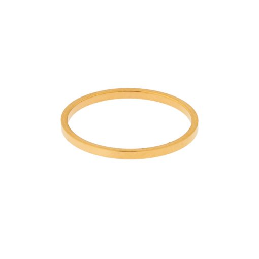 Ring basic square gold