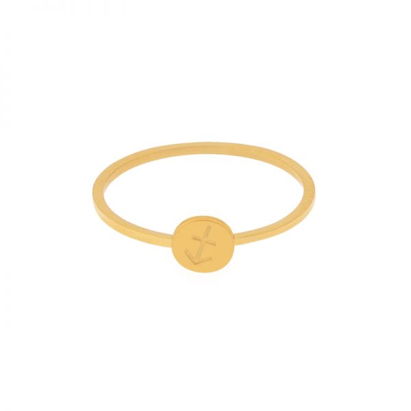 Ring zodiac gold