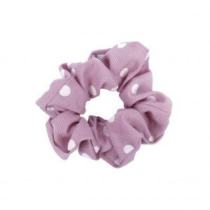 Scrunchie dots pink