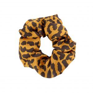 Scrunchie leopard orange